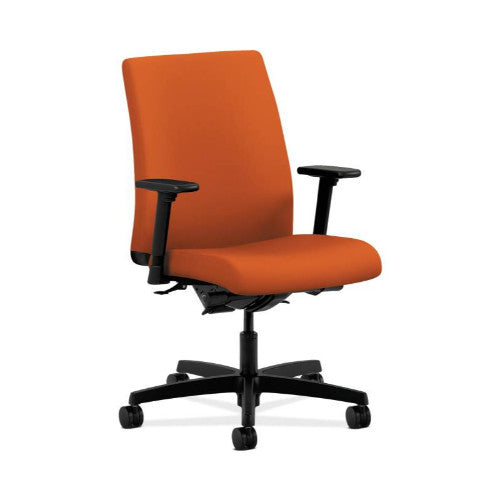 HON Ignition Low-Back Task Chair in Tangerine ; UPC: 889218834351