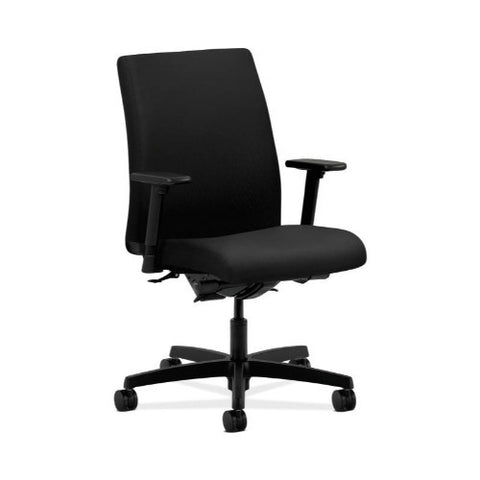 HON Ignition Low-Back Task Chair in Black ; UPC: 745123552592