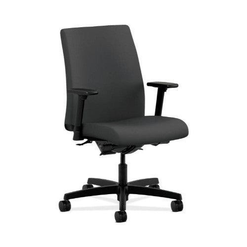 HON Ignition Low-Back Task Chair in Carbon ; UPC: 089191160212