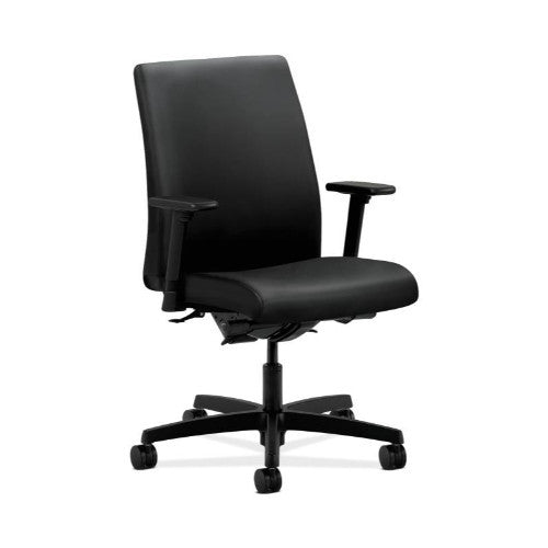 HON Ignition Low-Back Task Chair in Black ; UPC: 782986524793