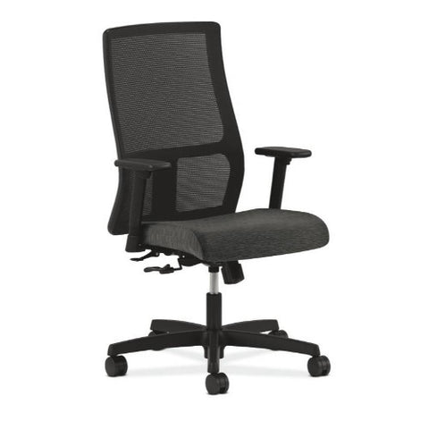 HON Ignition Mid-Back Mesh Task Chair in Onyx ; UPC: 089191787150