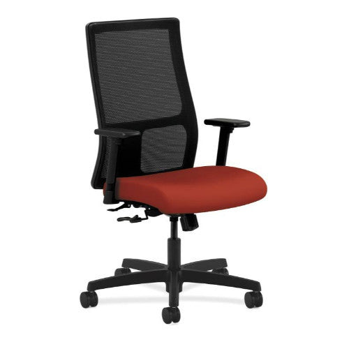 HON Ignition Mid-Back Mesh Task Chair in Poppy ; UPC: 752856671445