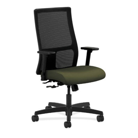 HON Ignition Mid-Back Mesh Task Chair in Olivine ; UPC: 089191803157