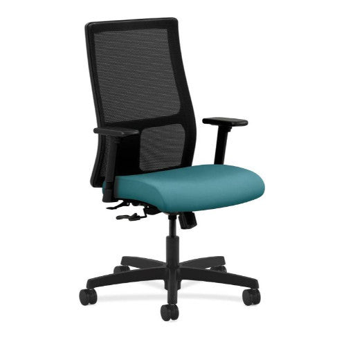 HON Ignition Mid-Back Mesh Task Chair in Glacier ; UPC: 782986659884