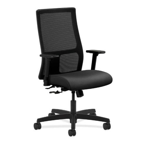 HON Ignition Mid-Back Mesh Task Chair in Onyx ; UPC: 035349809434