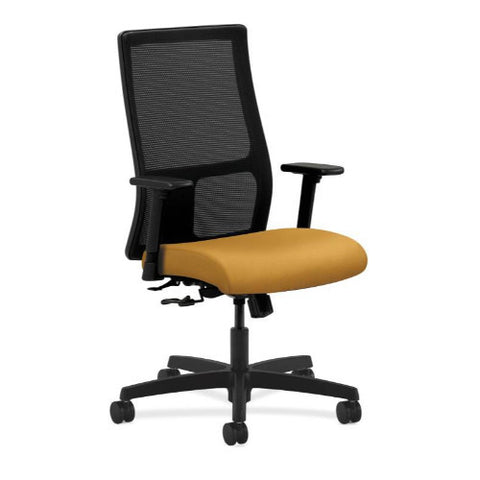 HON Ignition Mid-Back Mesh Task Chair in Mustard ; UPC: 888206555995