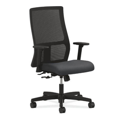 HON Ignition Mid-Back Mesh Task Chair in Charcoal ; UPC: 089192269211