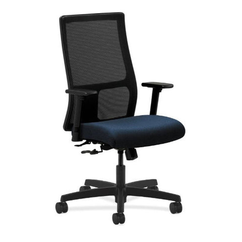 HON Ignition Mid-Back Mesh Task Chair in Mariner ; UPC: 641128772259