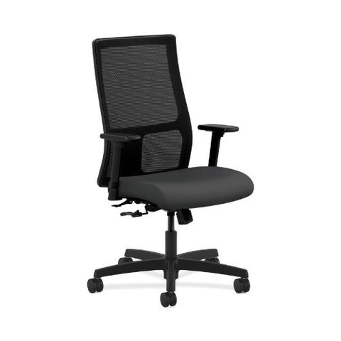 HON Ignition Mid-Back Mesh Task Chair in Carbon ; UPC: 752856935448