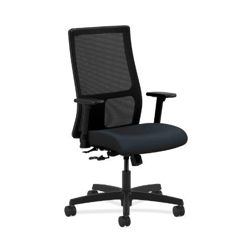 HON Ignition Mid-Back Mesh Task Chair in Navy ; UPC: 745123765909