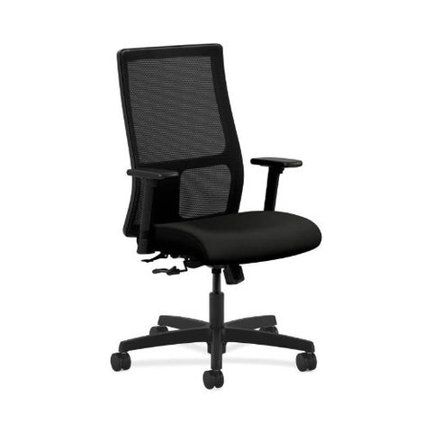 HON Ignition Mid-Back Mesh Task Chair in Black ; UPC: 089191188322