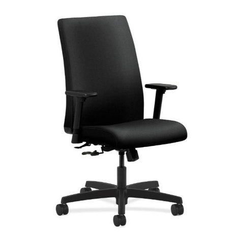 HON Ignition Mid-Back Task Chair in Black ; UPC: 089191228776