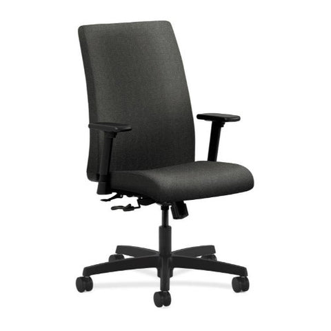 HON Ignition Mid-Back Task Chair in Gray ; UPC: 745123297332
