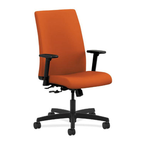 HON Ignition Mid-Back Task Chair in Tangerine ; UPC: 888531012699