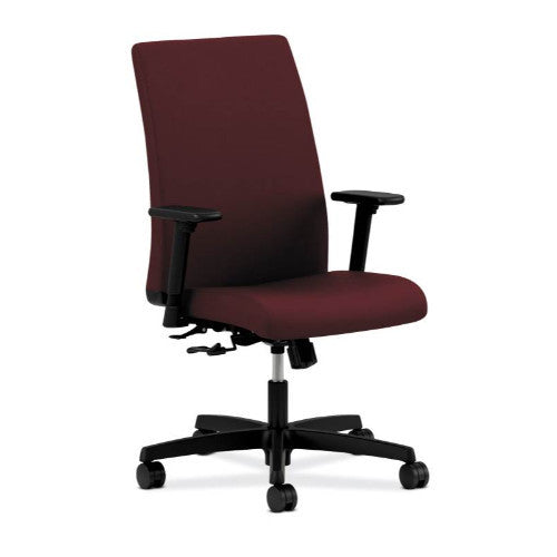 HON Ignition Mid-Back Task Chair in Berry ; UPC: 089191803195