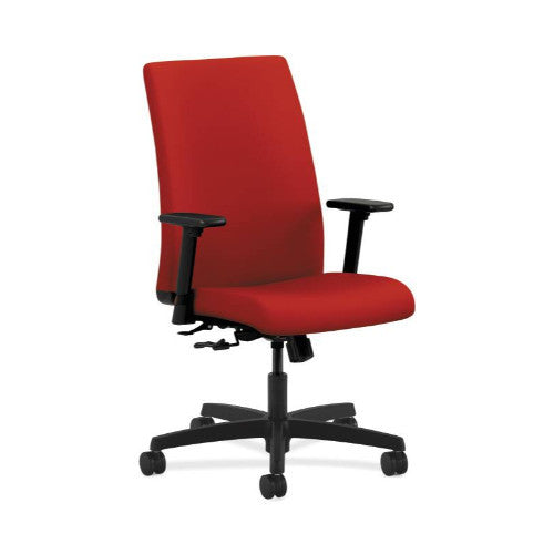 HON Ignition Mid-Back Task Chair in Tomato ; UPC: 782986185772