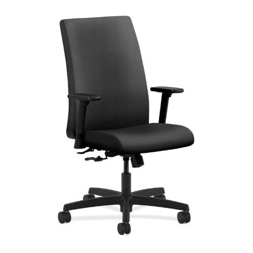 HON Ignition Mid-Back Task Chair in Onyx ; UPC: 888206395515