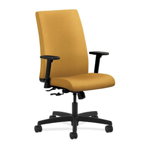 HON Ignition Mid-Back Task Chair in Mustard ; UPC: 888531442663