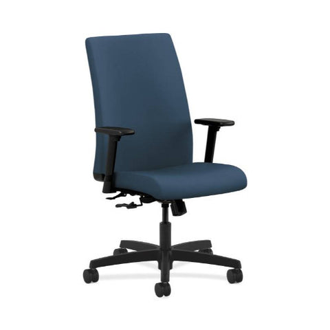 HON Ignition Mid-Back Task Chair in Jet ; UPC: 035349224435