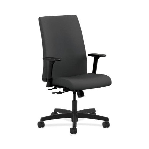 HON Ignition Mid-Back Task Chair in Carbon ; UPC: 782986342168