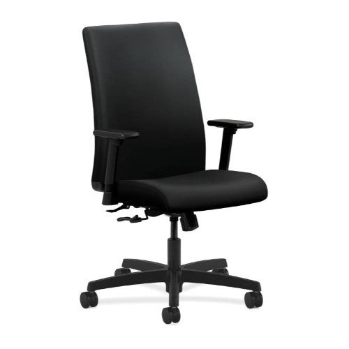 HON Ignition Mid-Back Task Chair in Black ; UPC: 089191528722