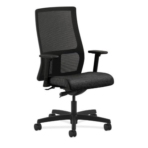 HON Ignition Mid-Back Mesh Task Chair in Onyx ; UPC: 020459727105