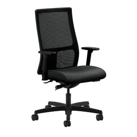 HON Ignition Mid-Back Mesh Task Chair in Onyx ; UPC: 020459228763