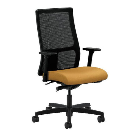 HON Ignition Mid-Back Mesh Task Chair in Mustard ; UPC: 888206606543