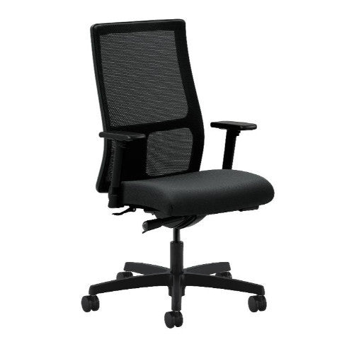 HON Ignition Mid-Back Mesh Task Chair in Charcoal ; UPC: 020459727525