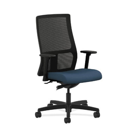 HON Ignition Mid-Back Mesh Task Chair in Jet ; UPC: 089192999910