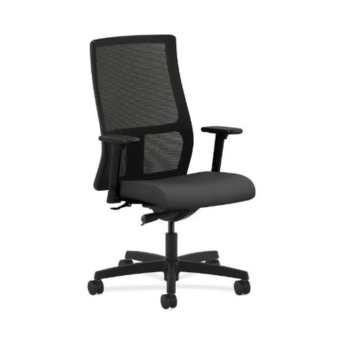 HON Ignition Mid-Back Mesh Task Chair in Carbon ; UPC: 089192839162
