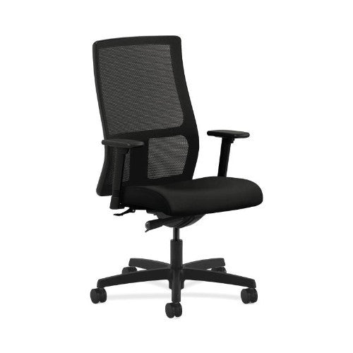 HON Ignition Mid-Back Mesh Task Chair in Black ; UPC: 089191141877