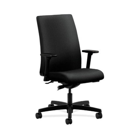 HON Ignition Mid-Back Task Chair in Black ; UPC: 089191160656