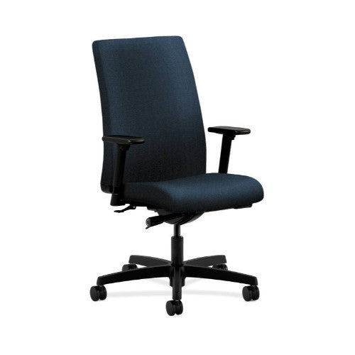 HON Ignition Mid-Back Task Chair in Blue ; UPC: 089191542520