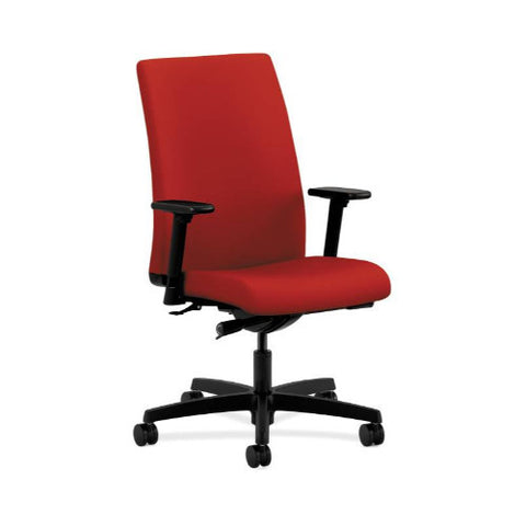 HON Ignition Mid-Back Task Chair in Tomato ; UPC: 782986488156