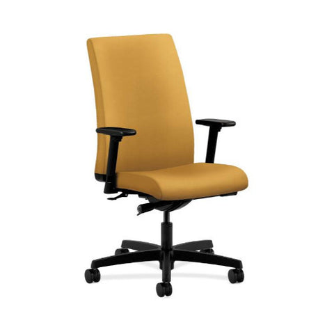 HON Ignition Mid-Back Task Chair in Mustard ; UPC: 888206619116