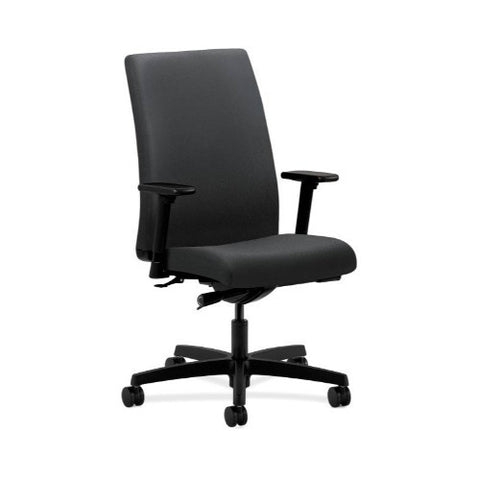 HON Ignition Mid-Back Task Chair in Charcoal ; UPC: 020459726801