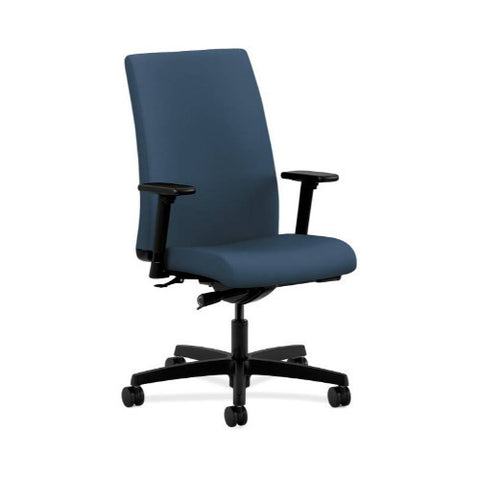 HON Ignition Mid-Back Task Chair in Jet ; UPC: 089191228820