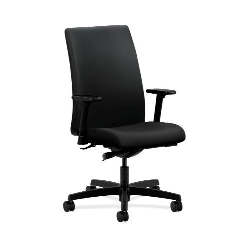 HON Ignition Mid-Back Task Chair in Black ; UPC: 089192135448