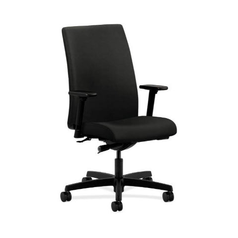 HON Ignition Mid-Back Task Chair in Black ; UPC: 745123575546
