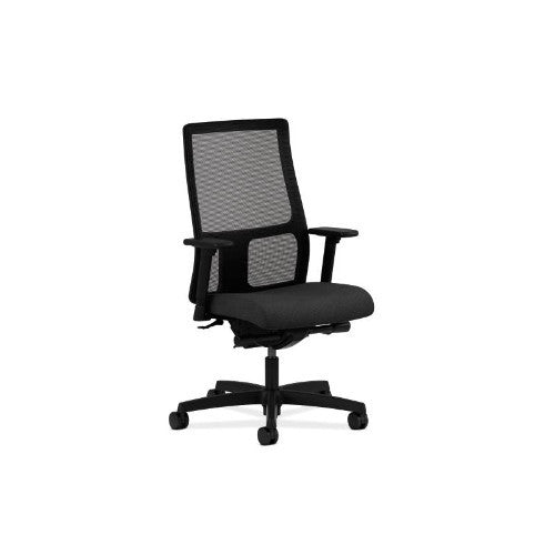 HON Ignition Mid-Back Mesh Task Chair in Black ; UPC: 745123591324