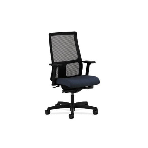 HON Ignition Mid-Back Mesh Task Chair in Blue ; UPC: 089191631590