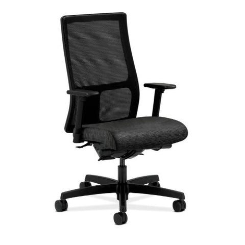 HON Ignition Mid-Back Mesh Task Chair in Onyx ; UPC: 745123567404