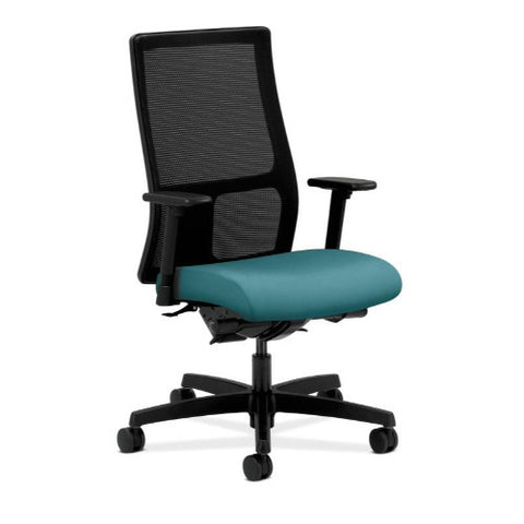 HON Ignition Mid-Back Mesh Task Chair in Glacier ; UPC: 631530893666