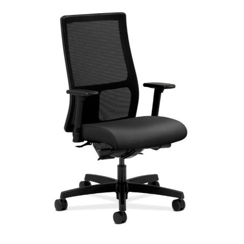 HON Ignition Mid-Back Mesh Task Chair in Onyx ; UPC: 035349858678
