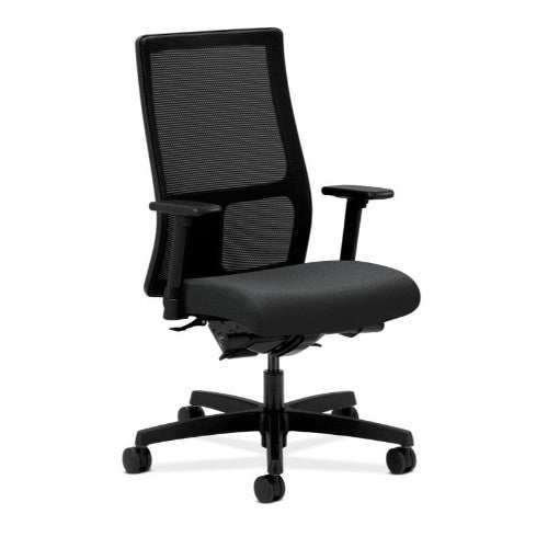 HON Ignition Mid-Back Mesh Task Chair in Charcoal ; UPC: 089191332466