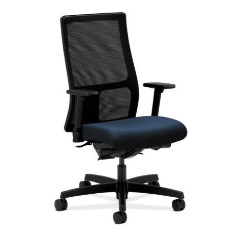 HON Ignition Mid-Back Mesh Task Chair in Mariner ; UPC: 089191318293