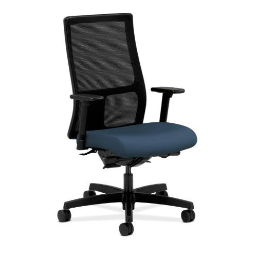 HON Ignition Mid-Back Mesh Task Chair in Jet ; UPC: 782986673668