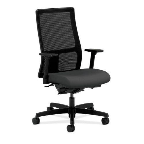 HON Ignition Mid-Back Mesh Task Chair in Carbon ; UPC: 089192536351