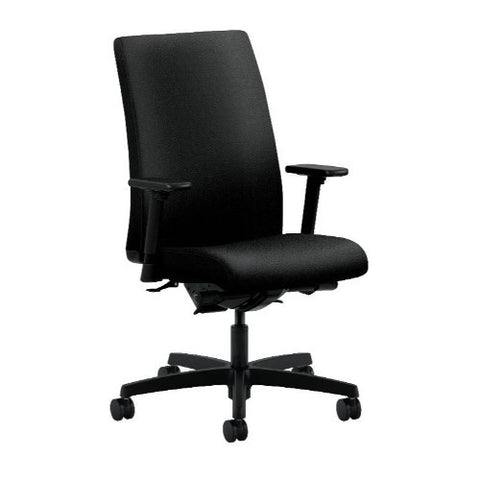 HON Ignition Mid-Back Task Chair in Black ; UPC: 089191218883